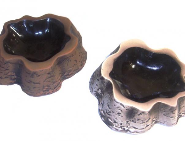 Кормушка пенек (глина)
